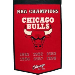 シカゴ ブルズ Chicago Bulls グッズ Dynasty Banner|fermart-hobby