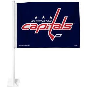 ワシントン キャピタルズ Washington Capitals グッズ Car Flag|fermart-hobby