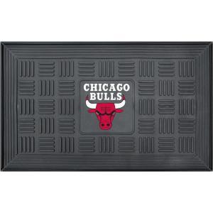 シカゴ ブルズ Chicago Bulls グッズ ドアマット Door Mat|fermart-hobby