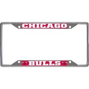 シカゴ ブルズ Chicago Bulls グッズ License Plate Frame|fermart-hobby