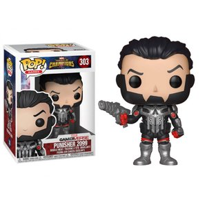 マーベル MARVEL フィギュア pop! games: marvel: contest of champions - punisher 2099 exclusive|fermart-hobby
