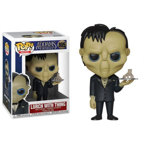 アダムスファミリー THE ADDAMS FAMILY フィギュア pop! movies: the addams family - lurch with thing|fermart-hobby