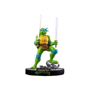ミュータント タートルズ アイコンコレクティブルズ IKON COLLECTIBLES Leonardo On Defeated Mouser Limited Edition Statue|fermart-hobby
