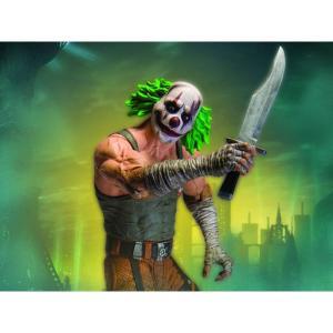ディーシー コミックス DC COMICS フィギュア batman arkham city action figure series 03 - green hair clown thug with knife|fermart-hobby