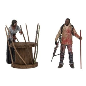 ウォーキング デッド マクファーレン MCFARLANE The Walking Dead TV Series Deluxe Box Set - Morgan With Walker & Trap|fermart-hobby