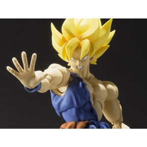 ドラゴンボール バンダイ BANDAI JAPAN Dragon Ball Z S.H.Figuarts Super Saiyan Goku (Warrior Awakening)|fermart-hobby