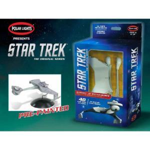 スタートレック ポーラライツ POLAR LIGHTS 1/1000 TOS Klingon D7 Battle Cruiser Model Kit Pre-Painted|fermart-hobby