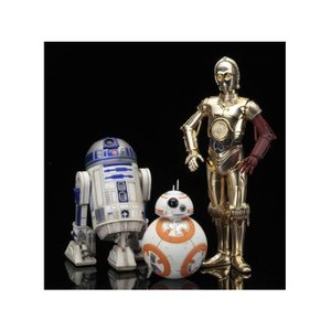 スターウォーズ コトブキヤ KOTOBUKIYA Star Wars ArtFX+ C-3PO & R2-D2 With BB-8 Statue Pack (The Force Awakens)|fermart-hobby