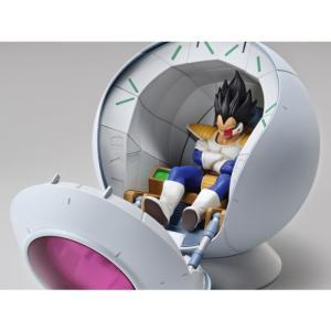 ドラゴンボール バンダイ BANDAI JAPAN Dragon Ball Z Figure-rise Mechanics Saiyan Space Pod|fermart-hobby