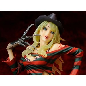 エルム街の悪夢 A NIGHTMARE ON ELM STREET 彫像・スタチュー freddy vs. jason bishoujo horror freddy statue 2nd edition|fermart-hobby