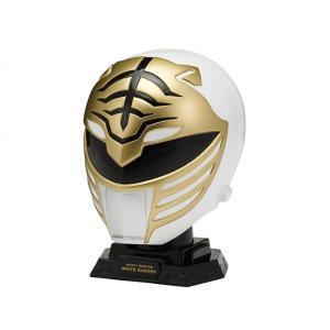 パワーレンジャー POWER RANGERS グッズ mighty morphin power rangers legacy white ranger 1/4 scale helmet|fermart-hobby