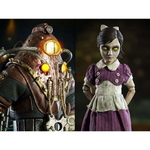 バイオショック BIOSHOCK フィギュア bioshock 2 subject delta & little sister 1/6 scale collectible figure set|fermart-hobby