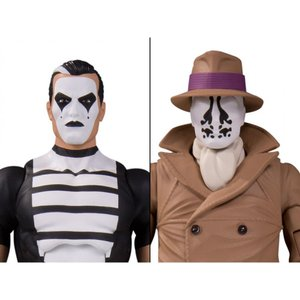 DC COMICS おもちゃ・ホビー Watchmen Doomsday Clock Rorschach & Mime Two-Pack|fermart-hobby