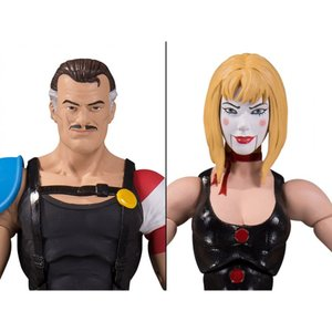 DC COMICS おもちゃ・ホビー Watchmen Doomsday Clock The Comedian & Marionette Two-Pack|fermart-hobby