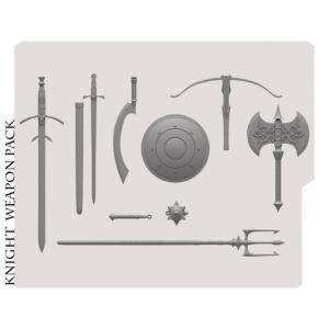 ミシックレギオンズ MYTHIC LEGIONS フィギュアパーツ mythic legions advent of decay knight weapons pack fermart-hobby