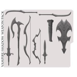 ミシックレギオンズ MYTHIC LEGIONS フィギュアパーツ mythic legions advent of decay vampire weapons pack fermart-hobby