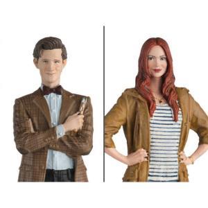 ドクター フー DOCTOR WHO フィギュア doctor who figurine collection companion set #1 eleventh doctor & amy pond|fermart-hobby