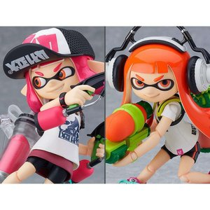 スプラトゥーン SPLATOON フィギュア splatoon figma no.400-dx splatoon girl two-pack|fermart-hobby