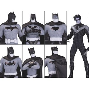 DC COMICS フィギュア Batman Black and White Mini Figure Box Set #1|fermart-hobby