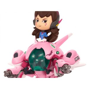 オーバーウォッチ OVERWATCH フィギュア ビニールフィギュア overwatch cute but deadly d.va with meka vinyl figure|fermart-hobby