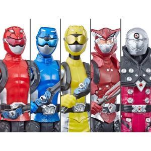 パワーレンジャー POWER RANGERS フィギュア power rangers beast morphers basic wave 1 set of 5 figures|fermart-hobby