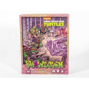 ミュータント タートルズ TEENAGE MUTANT NINJA TURTLES ゲーム・パズル ボードゲーム tmnt showdown: bebop & rocksteady madness board game|fermart-hobby