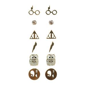 WB WB アクセサリー イヤリング Harry Potter Earrings 6 Pair Set|fermart-hobby