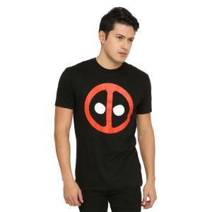 マーベル MARVEL トップス Tシャツ Marvel Deadpool Logo T-Shirt|fermart-hobby