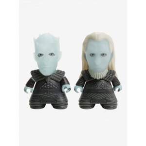 ゲーム オブ スローンズ タイタン フィギュア Game Of Thrones Night King & White Walker Titans Vinyl Figure Twin Pack 2017 Fall Convention Exclusive|fermart-hobby