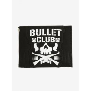 新日本プロレス New Japan Pro-Wrestling ユニセックス 財布 New Japan Pro-Wrestling Bullet Club Bi-Fold Wallet fermart-hobby