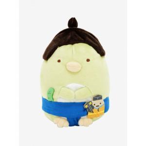 すみっコぐらし Sumikko Gurashi ぬいぐるみ おもちゃ San-X Sumikko Gurashi 5th Anniversary Penguin? Sumo Plush|fermart-hobby