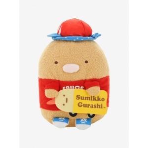 すみっコぐらし Sumikko Gurashi ぬいぐるみ おもちゃ San-X Sumikko Gurashi 5th Anniversary Tonkatsu Skater Plush|fermart-hobby