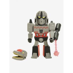 キッドロボット Kidrobot KID ROBOT フィギュア おもちゃ Kidrobot X Transformers Vs GI Joe Megatron Gray Art Figure|fermart-hobby
