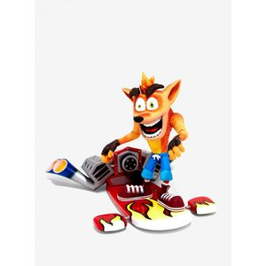 クラッシュ バンディクー Crash Bandicoot フィギュア With Jet Board Deluxe Action Figure|fermart-hobby