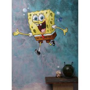 スポンジ ボブ SpongeBob グッズ SquarePants Giant Wall Decal fermart-hobby