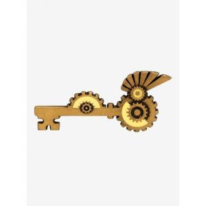 スチームパンク Steampunk グッズ Key Enamel Pin|fermart-hobby