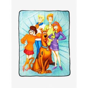 スクービー ドゥー Scooby-Doo グッズ ブランケット Group Throw Blanket|fermart-hobby