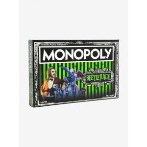 ビートルジュース Beetlejuice ゲーム・パズル ボードゲーム モノポリー Edition Monopoly Board Game|fermart-hobby