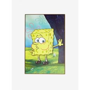 スポンジ ボブ SpongeBob グッズ SquarePants Naked Tired Wood Wall Art fermart-hobby