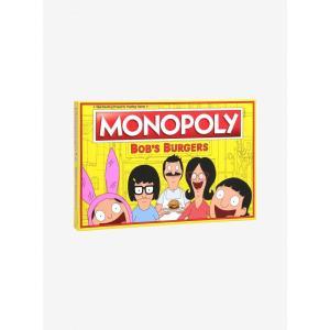 ボブズ バーガーズ Bob's Burgers ゲーム・パズル ボードゲーム モノポリー Edition Monopoly Board Game|fermart-hobby