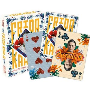 歴史上の人物フィギュア Historical Figures ゲーム・パズル Frida Kahlo Playing Cards|fermart-hobby