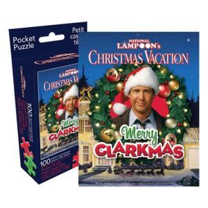 ナショナルランプーン National Lampoon ゲーム・パズル Christmas Vacation 100-Piece Pocket Puzzle|fermart-hobby
