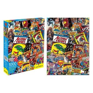 スーパーマン Superman ゲーム・パズル Comic Book Covers 1,000-Piece Puzzle|fermart-hobby