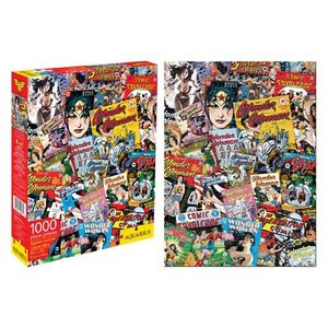 ワンダーウーマン Wonder Woman ゲーム・パズル Comic Book Covers 1,000-Piece Puzzle|fermart-hobby