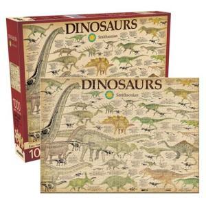 ダイナソー Dinosaurs ゲーム・パズル Smithsonian 1,000-Piece Puzzle|fermart-hobby