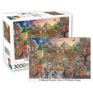 ビートルズ Beatles ゲーム・パズル Inspired Magical Mystery Tour 3,000-Piece Puzzle|fermart-hobby