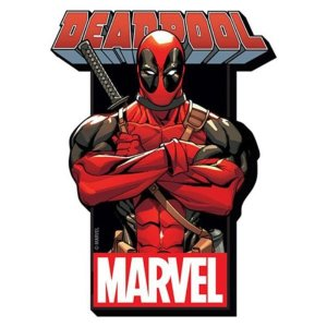 デッドプール アクアリウス Aquarius Deadpool with Logo Funky Chunky Magnet|fermart-hobby