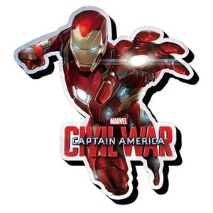 アイアンマン Iron Man グッズ Captain America Civil War Lunge Funky Chunky Magnet fermart-hobby