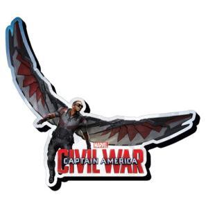 キャプテン アメリカ Captain America グッズ : Civil War Falcon Funky Chunky Magnet|fermart-hobby