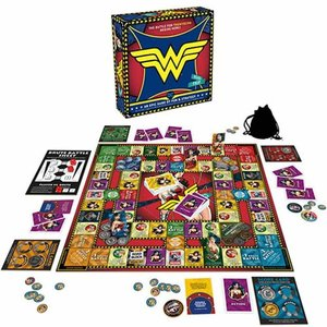 ワンダーウーマン Wonder Woman ゲーム・パズル Road Trip Board Game|fermart-hobby